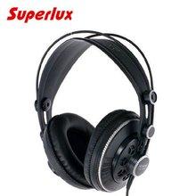 Vente chaude 100% d'origine Superlux HD681B DJ casque Semi-ouvert Professionnel Stéréo Dynamique Surveillance Écouteurs Studio Casque