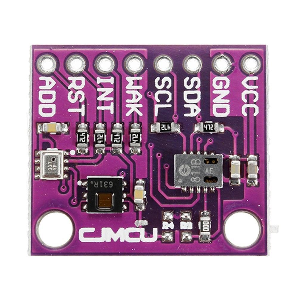 CJMCU 8128 + CCS811 + HDC1080 + BMP280 Температура Влажность газа давление модуль доска высокая точность CO2 Датчик качества воздуха-in Комплекты бытовой автоматики from Бытовая электроника