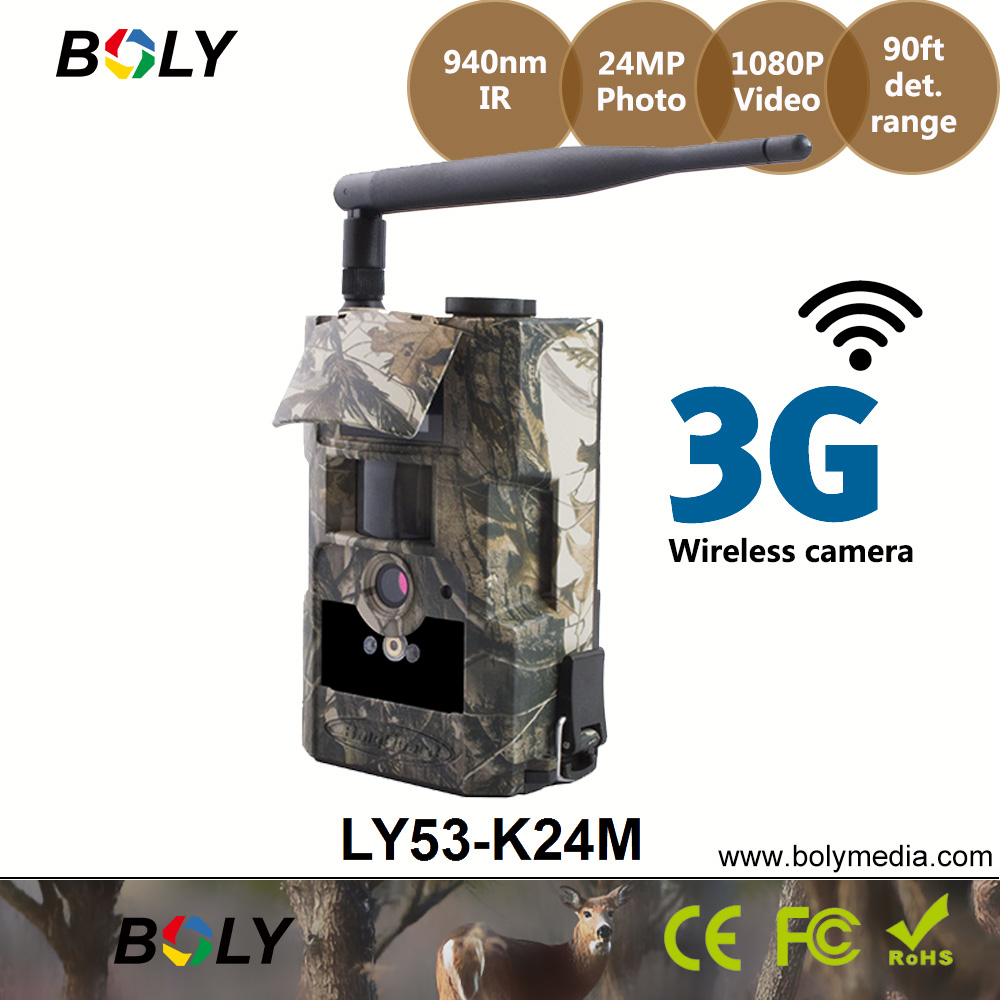Image 5 - Беспроводная камера для фотоохоты 3g Bolyguard 24HD ночного видения Скаутинг IP65 водонепроницаемые фотографии по электронной почте и телефону фотоловушка gsm-in Камеры для охоты from Спорт и развлечения