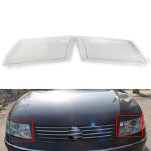 2pcs For Vw Pat B5 96 10 Front Headlamps Cover Transpa Pc Lampshade Headlight Shell
