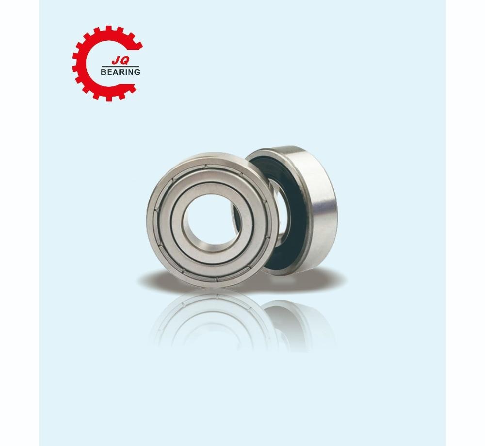 Купить с кэшбэком JQ Bearings 10 Pieces Aperture High Quality Deep Groove Ball Bearing 6000 6000Z 10x26x8 Double Shielded With Metal Shields Z/Z