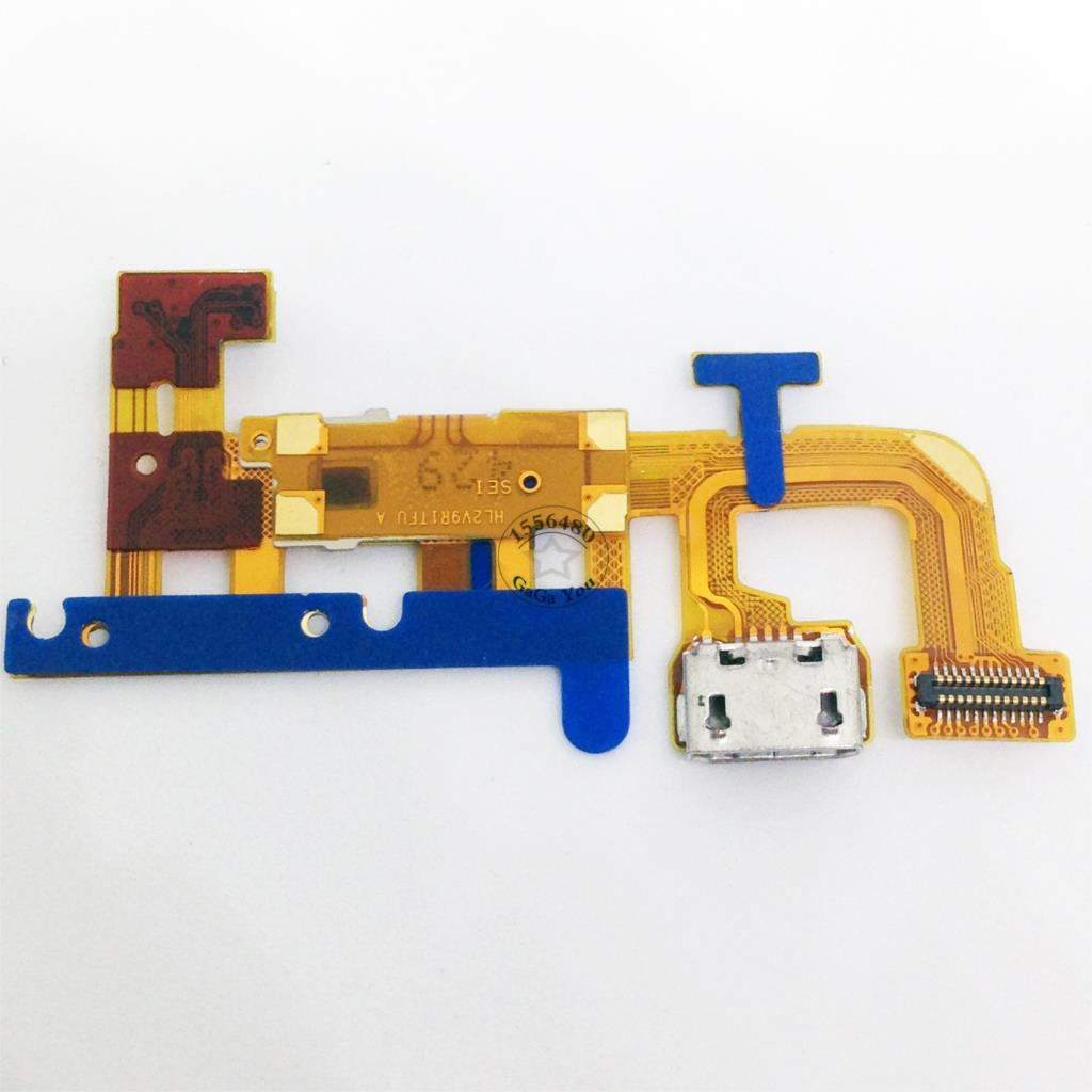 Original Charging Port flex Cable Charger Connector For Huawei Ascend P6 Mobile Phone Spare Parts
