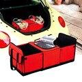 Carregador Do Carro Organizador de Viagem Handy Dobrável Organizador do Tronco Sacos De Armazenamento banco de trás do carro-styling Portátil Refrigerador Outing Conjunto cesta