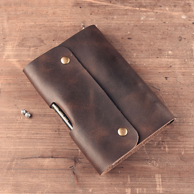Split Leather Notebooks Vintage Style Handmade Notebook School Tools Travelers Notebook Office Accessories High Quality