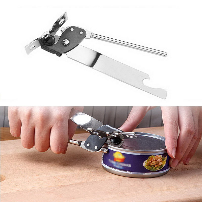 8 In 1 Multifunction Manual Bottle Can Opener for Kitchen Bar Camping