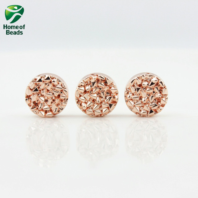 New Arrival top quality Hematite loose gold silver rose gold beads 8