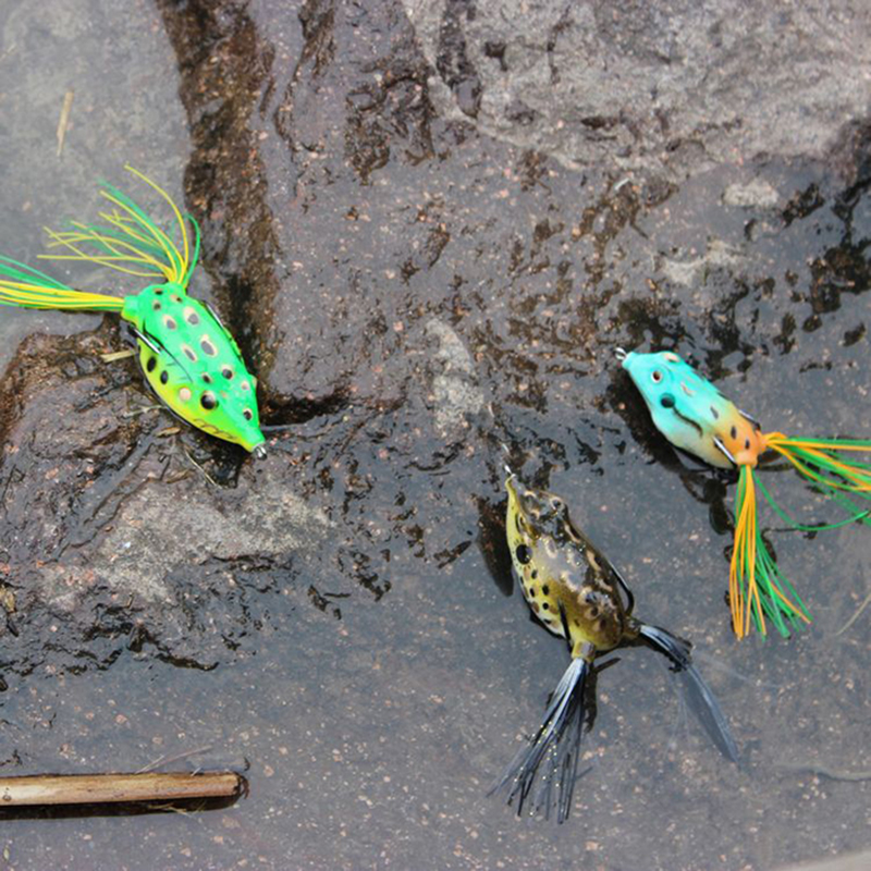 Fishing Lure Mixed 11 Models Fishing Tackle 10 Color Minnow Lure Crank Lures Mix Fishing Bait Frog Fishing Lures