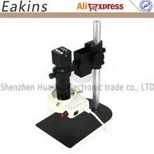 Conjunto completo HD VGA Microscopio Cámara 1080 P Cámara Microscopio Industrial para PCB LABORATORIO de reparación de teléfonos Móviles