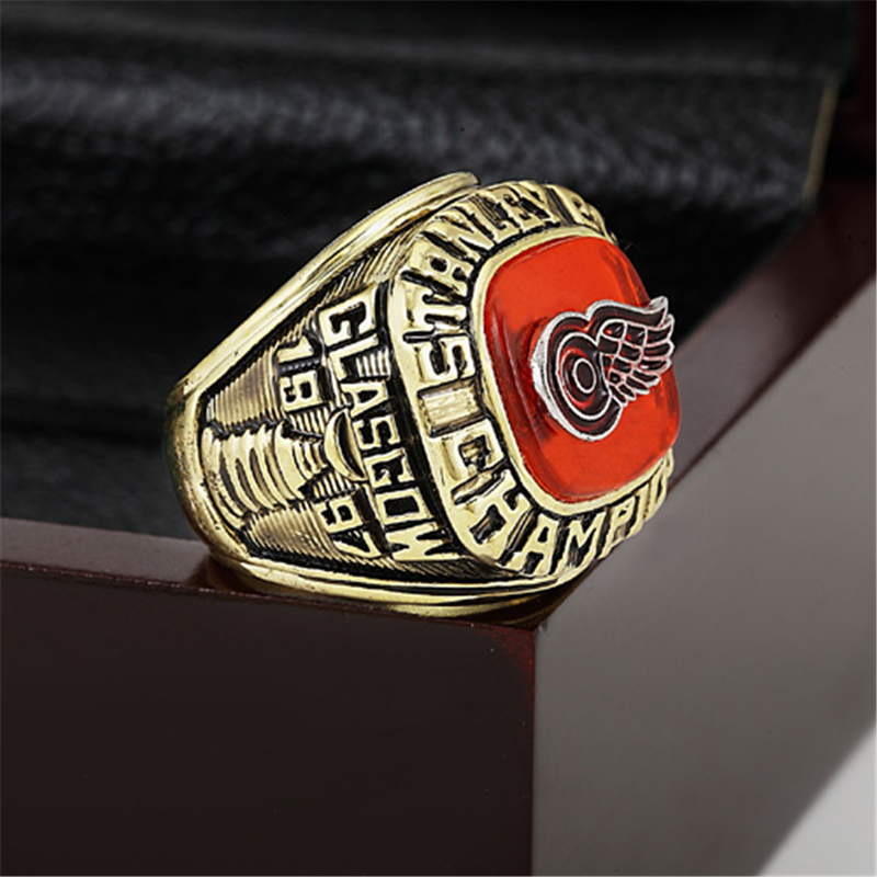 size 40 d8db3 7ac59 Detroit Red Wings Championship Ring 1997 Replica Stanley Cup ...