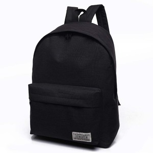2019 Men Male Canvas Black Bac