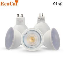 LED Bulb Spotlight 6W 220V 240V GU10 MR16 COB Chip Beam LED Lampara Spot For Down light cold white warm white