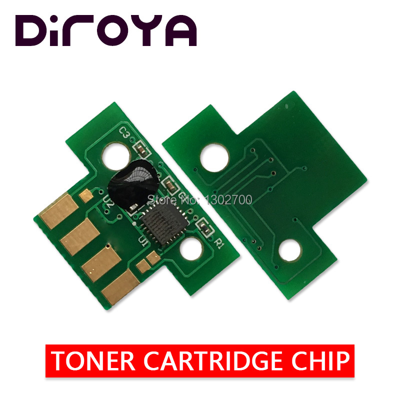 80C2SK0 80C2SC0 80C2SM0 80C2SY0 toner cartridge chip For lexmark CX310 CX410 CX510 CX 310 410 510 printer powder refill reset EU 10pcs for lexmark t650 t652 t654 t656 chip 25k t650h11e t650h21e eu ww version