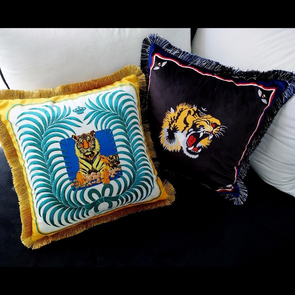 8997e0e85f1151 Capa de Almofada Almofadas de Veludo Ouro Luxo Travesseiro Almofada  Decorativa Decorativas Seda Travesseiro Prata Europeu