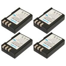 Recarregável para Câmera 4 Pcs 7.4 V 1800 Mah Li-ion Bateria para Nikon En-el9 EN El9 Enel9 En-el9a D40 D60 D5000 D3000 E1007n