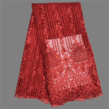 Popular beaded French net lace fabric for sewing evening dress GN118(5yards/lot) many other color