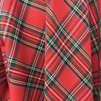 Хлопковая и льняная клетчатая рубашка и рубашка, клетчатая красная, черная, синяя и кофейная клетчатая скатерть, ткань «сделай сам»
