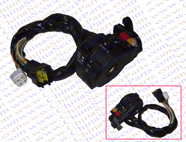 Kazuma 500cc 500 Atv Quad Left Side Handle Bar Switch