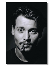 Canvas Poster Silk Fabric Custom Kitchen Poster Johnny Depp Movie Star Room Poster/Home Decorative Poster(China)