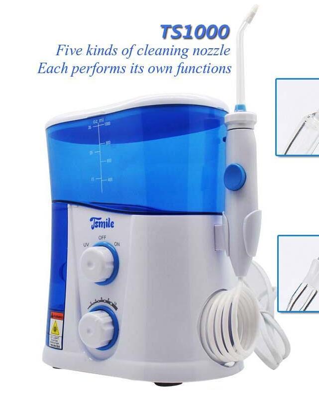 Tsmile électrique Jet d'eau choisir Flosser Oral irrigateur dents nettoyage dentaire soins des dents TS1000