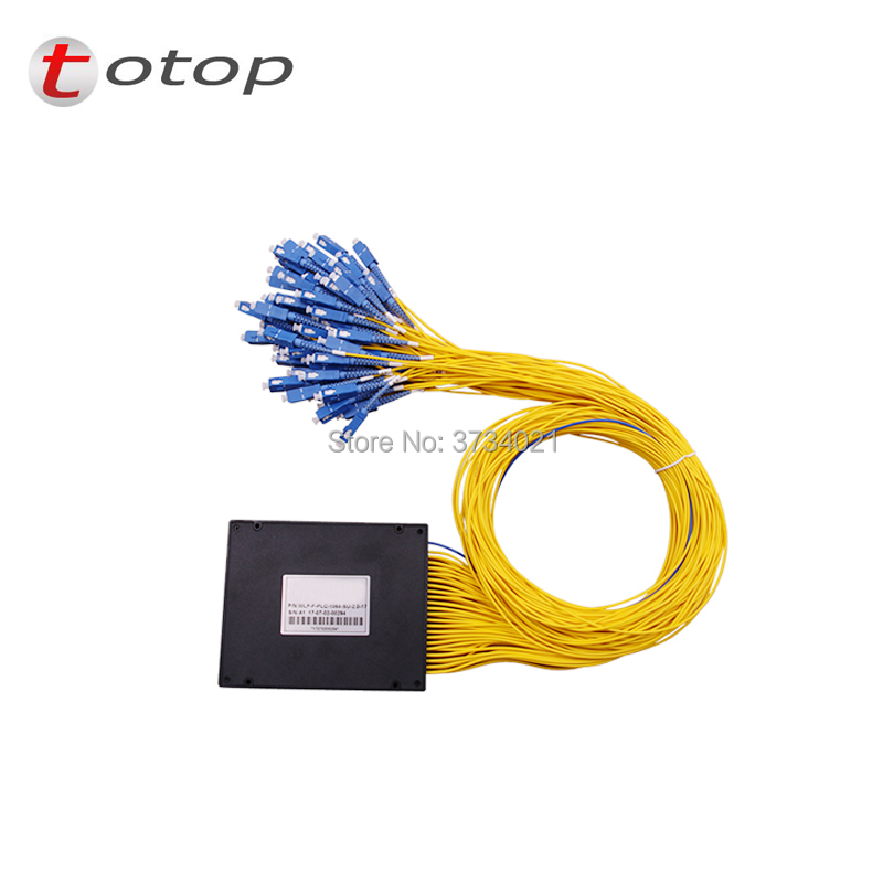 ABS SC UPC MINI PLC 1X64 Single mode LC fiber optic splitter FBT Optical Couple with best quality