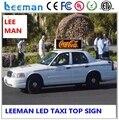 Leeman P3 P5 , гидравлическим трейлер реклама из светодиодов дисплей p6 P5 полноцветный мобильный такси топ из светодиодов