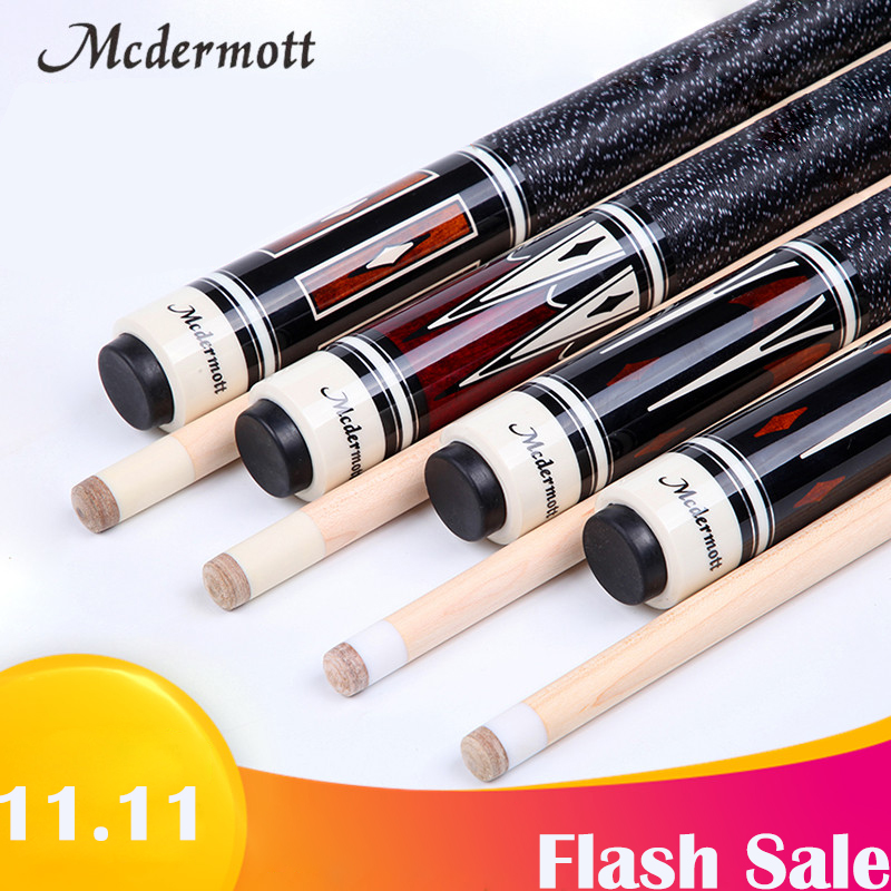 купить Mcdermott Pool Cue Kit Stick with Case 1/2 Pool Game Sticks 11.5mm 13mm 13.5mm Tip Pool Cue Stick 147cm Tip Billiards Cue по цене 7883.63 рублей