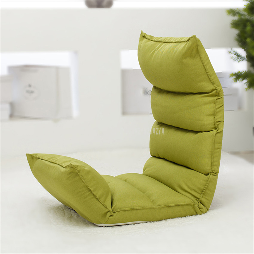 Floor Foldable Modern Chaise Lounge Chair Living Room