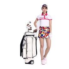 Poleras Polo Hombre Rushed Mulheres Roupas De Golfe 2017 New! Pgm Women's Golf Costume Short Sleeve T-shirt Polo Shirt Lingerie
