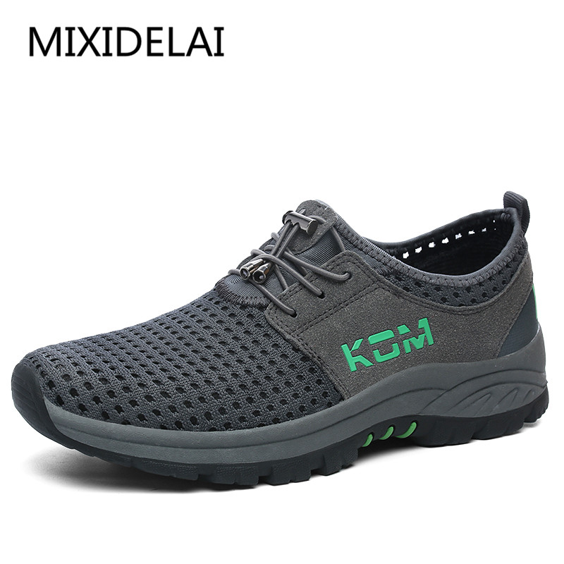New Men Casual Shoes Breathable Mesh Men Shoes Lightweight Men Flats Casual Shoes Men Brand Designer Male Shoes big size 39-45 mvp boy brand 2018 new summer mesh air mesh men breathable loafers black shoes spring lightweight fashion men casual shoes