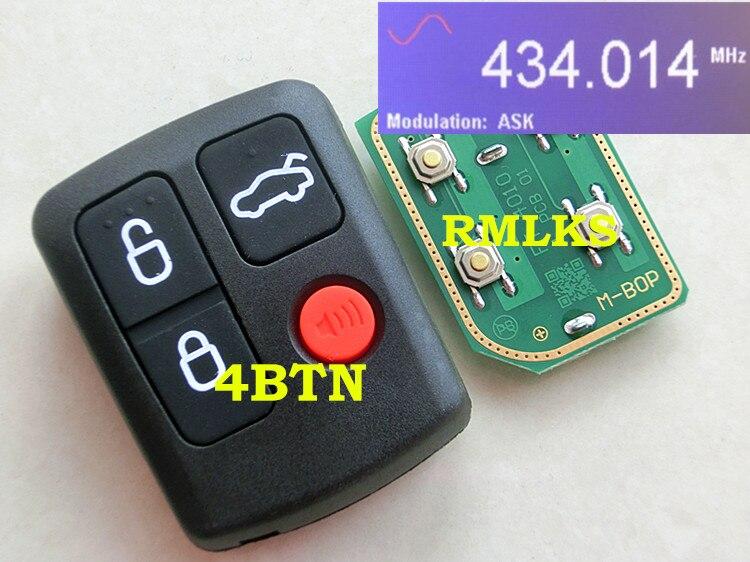 Rmlks 10 Pz/lotto Fob Chiave A Distanza Per Falcon Ba Bf Berlina Station-wagon Sostituzione 4 Button 433 Mhz Keyless Entry Prestazioni Affidabili