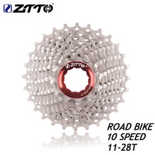 ZTTO – Cassette de vélo de route 10s 11- 28 T, roue libre, pièces de bicyclette 10s 20S 10, volant d'inertie de vitesse, pour pièces 5600 5700 105 K7 rival