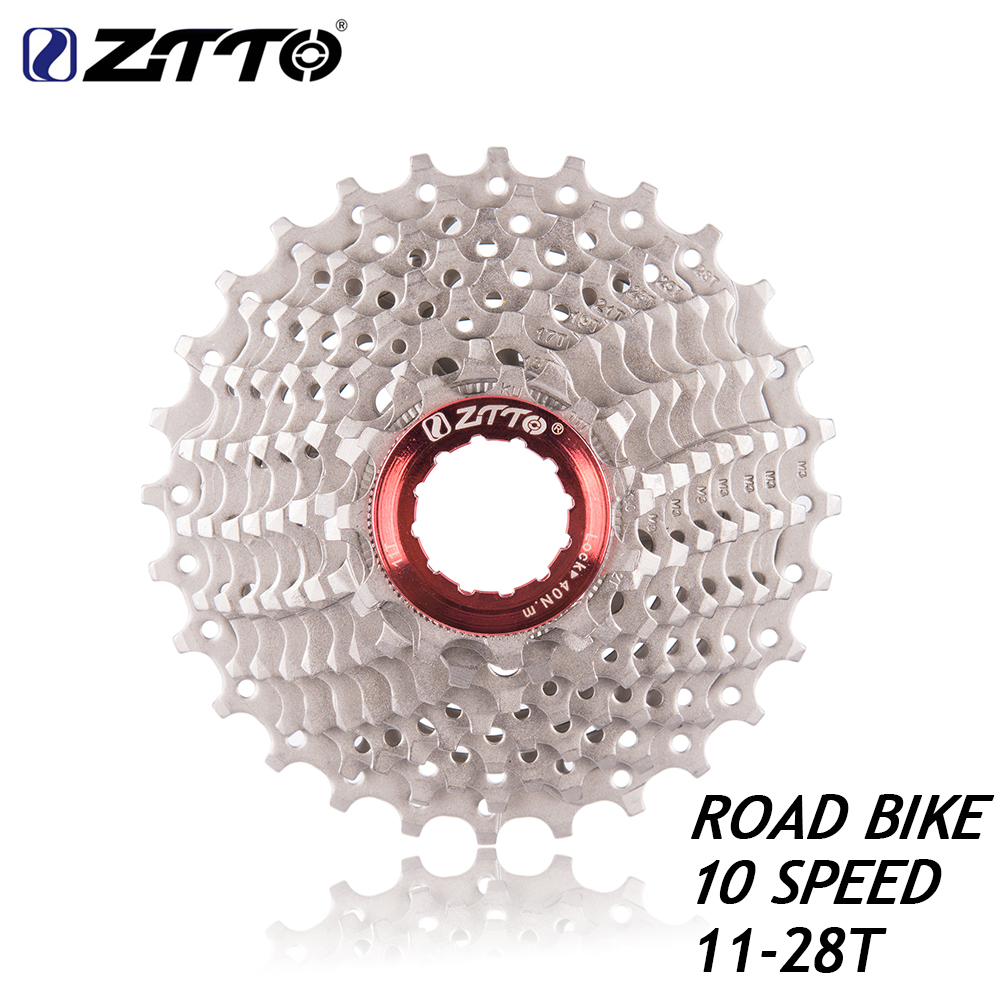 ZTTO Road Bike 10s Cassette 11- 28 T Freewheel Bicycle Parts 10s 20S 10Speed Flywheel for parts 5600 5700 105 K7 rival