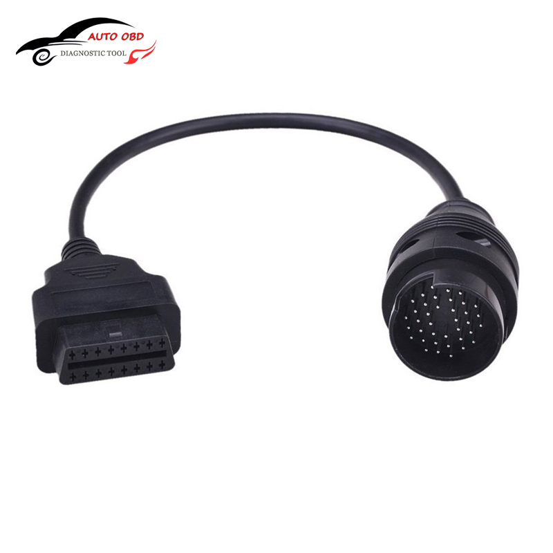 US $6 55 |OBD 2 II Cable For IVECO 38Pin obd 16 Pin Connector Cable Car  Interface Cable For IVECO Trucks Diagnostic Tools Car detector-in Car