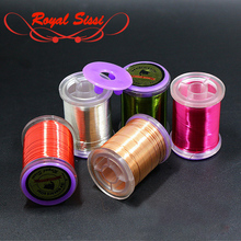 Royal Sissi 0.2mm 0.3mm fly tying craft wire ULTRA WIRE Midge Larvae segmented body ribbing copper metal thread