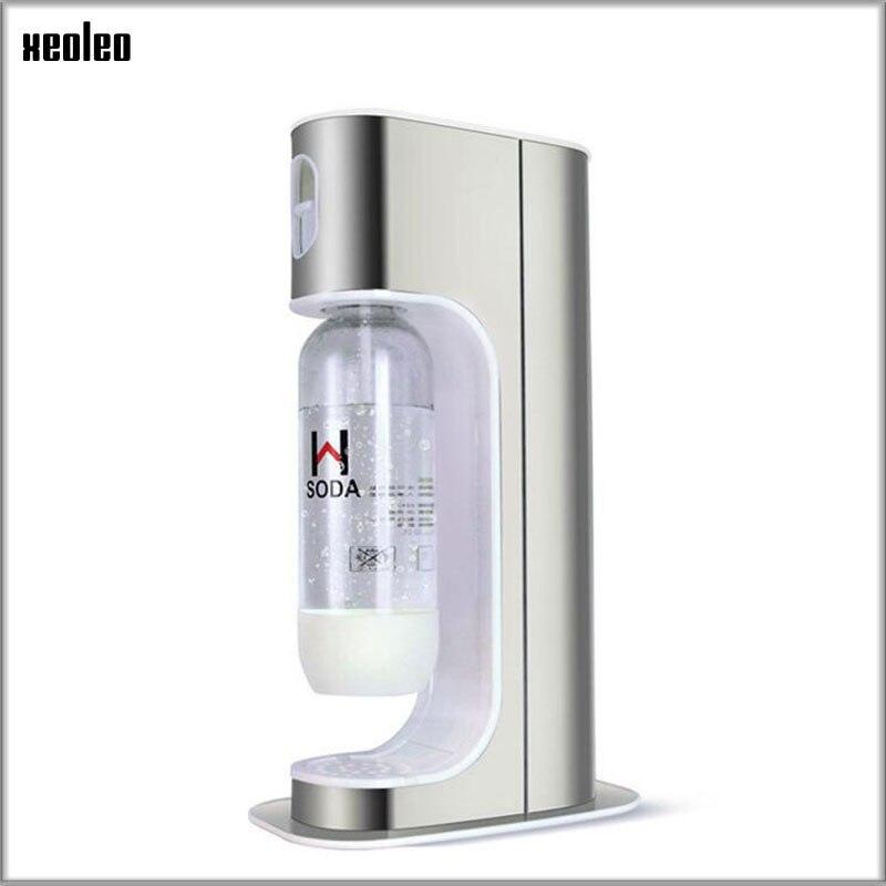 XEOLEO Household Soda maker Stainless steel Bubble water machine DIY Soda machine For Milk tea shop Commerical Carbonated drinks Бутылка