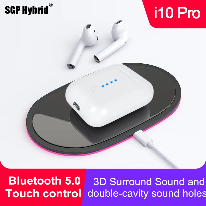 Mini i10 i 10 Pro TWS Earphones True Bluetooth 5.0 Wireless Touch Control Earbuds Sport Earphone For Samsung Huawei Xiaomi Sony
