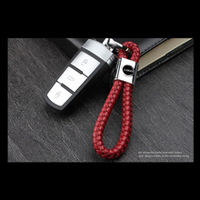 11cm Red Color Car Keychain Keys Ring 3D Logo Auto Keychains