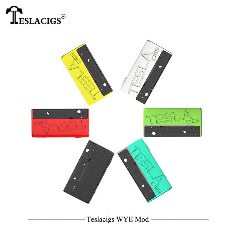 Plus léger Électronique Cigarettes Mod Teslacigs Tesla WYE 85 W Mod Teslacigs WYE 85 W boîte de contrôle de température Mod 510 Fil Vaporisateur - 6