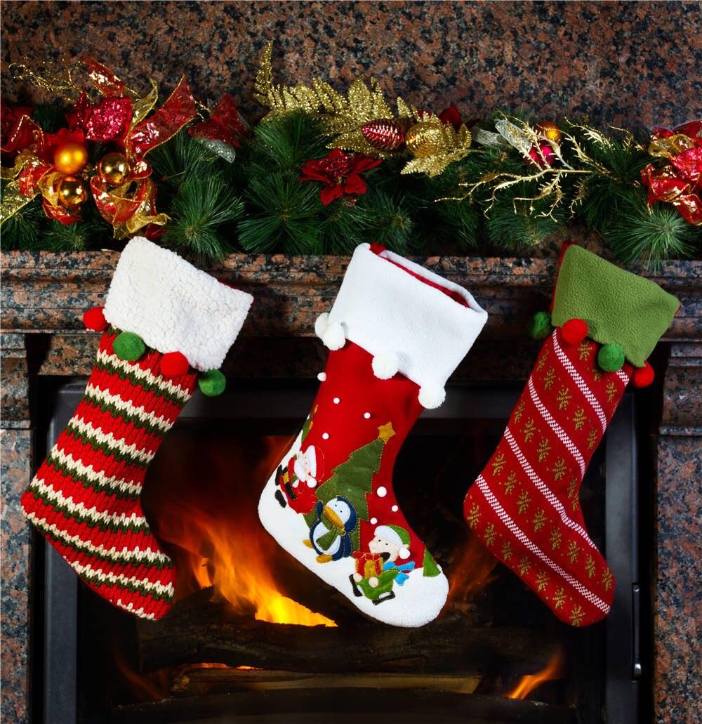 Photography Backdrops Christmas Socks 5x5FT Photo Studio Props Vinyl Background for Children christmas056 free shipping 6 5 10 ft children photography background christmas backdrops photography vinyl backdrops for photography sd16