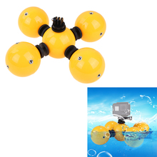 For GoPro Accessories Buoyancy Ball 9.45″X6.14″X2.99″ Water Photography Anti-setting Ball Set Carry 1-3 Sports Camera Floating