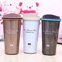 ANJIALT כוס קפה 500 ML תרמוס קפה ספלי נירוסטה צלוחיות תרמוסים לרכב Thermocup חותם בקבוק מים נסיעות