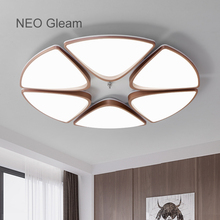 NEO Gleam Round Dimming LED Ceiling Lights  For Living Room Bedroom AC85-265V Modern Led Ceiling Lamp Fixtures lampara techo neo gleam ultra thin modern led ceiling lights for living room bedroom white black ac85 265v stylish ceiling lamp fixtures