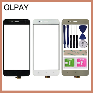 Image 1 - 5.5 携帯電話のタッチスクリーンデジタイザxiaomi mi A1 MiA1 MDG2タッチガラスセンサーツールフリー接着剤とワイプ