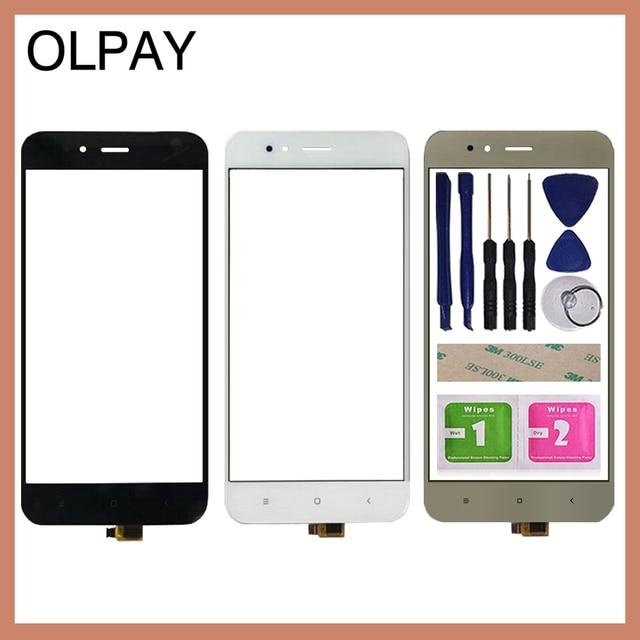 5.5 携帯電話のタッチスクリーンデジタイザxiaomi mi A1 MiA1 MDG2タッチガラスセンサーツールフリー接着剤とワイプ