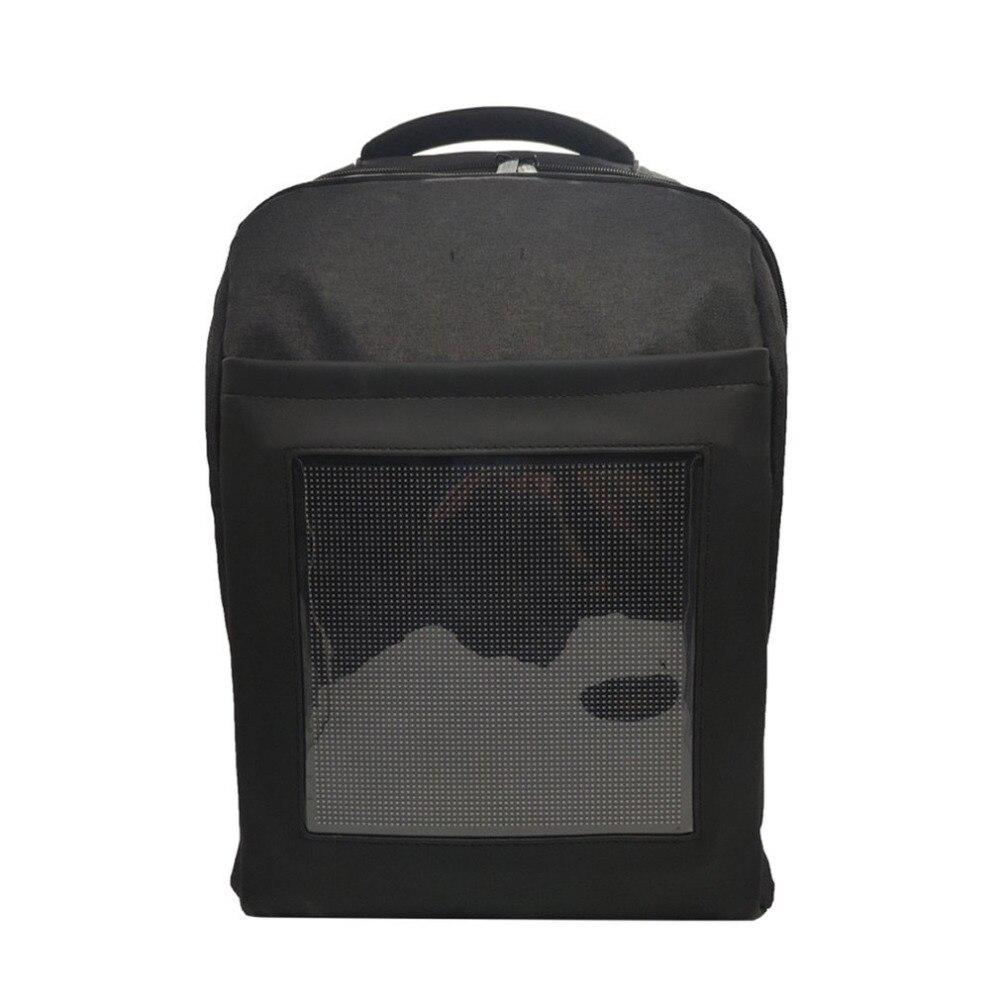 Светодио дный светодиодный компактный рюкзак для наружной рекламы бизнес сумки для ноутбука школьная сумка двойная светодио дный плечо за