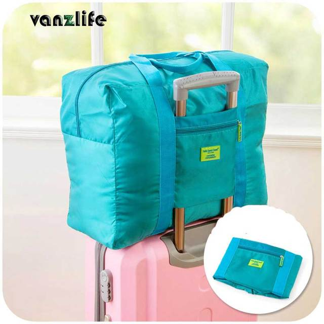 Vanzlife Waterproof Nylon Travelling Pouch Folding Clothes Organizing Bags Admission Package