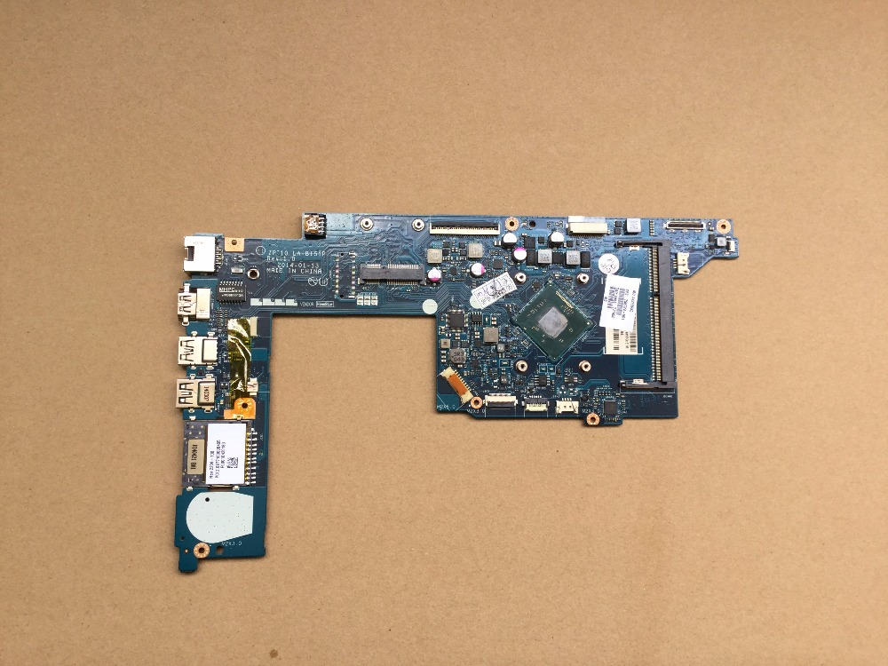 755724-001 Free Shipping laptop motherboard for HP Pavilion 11-N 755724-501 ZPT10 LA-B151P N3520 CPU 100% Fully tested 686928 501 free shipping 686928 001 for hp pavilion m6 m6t laptop motherboard notebook mainboard qcl50 la 8713p