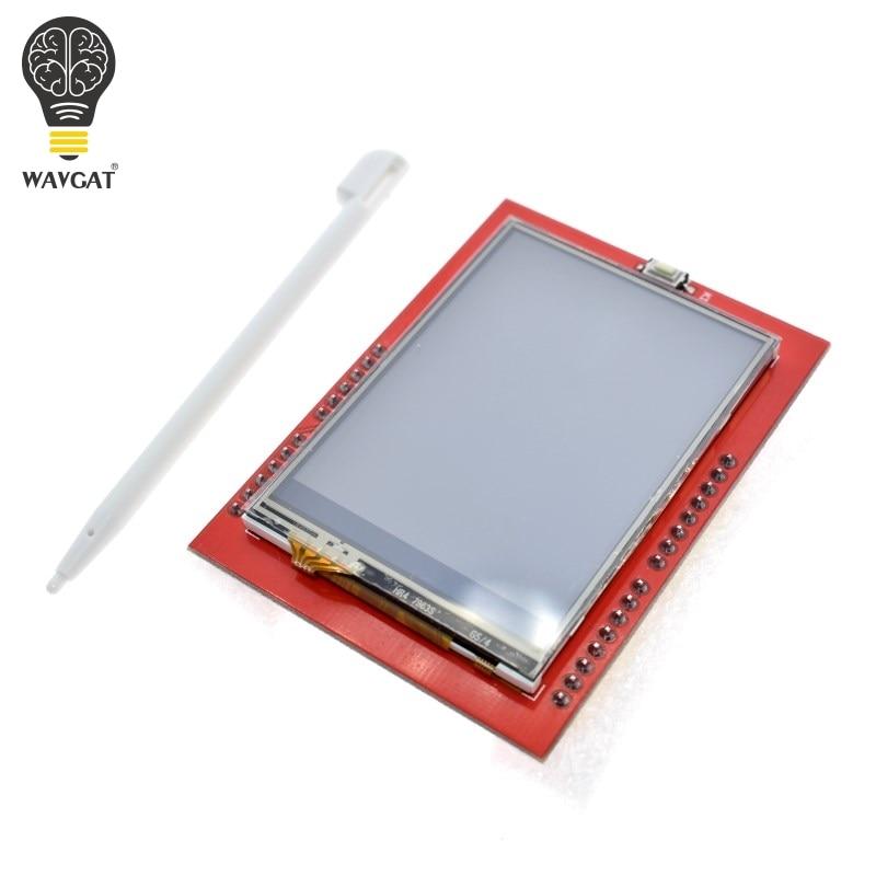 WAVGAT LCD modul TFT 2,4 inch TFT LCD bildschirm ILI9341 Treiber für Arduino UNO R3 Bord und unterstützung mega 2560