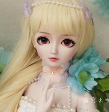 FULL SET Top quality 60cm pvc doll 1/3 girl bjd huazhichao wig clothes all included night lolita reborn baby best gift model free shipping free makeup and eyes included top quality 1 3 bjd doll girl female animal soom gem breccia fox dod manikin model