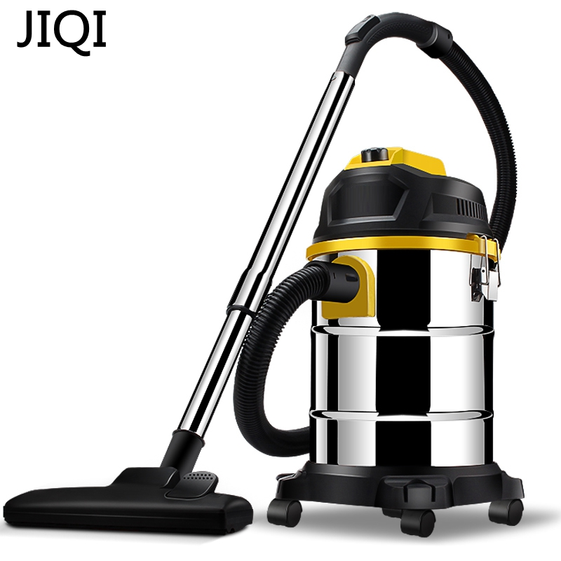 JIQI Vacuum cleaner household handheld wet and dry blow large power ultra strong silent barrel type 15L large capacity jiqi vacuum cleaner household handheld wet and dry blow large power ultra strong silent barrel type 15l large capacity